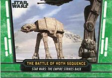 Star Wars 40th Anniversary Green Base Card #27 The Battle of Hoth