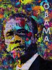 Barack Obama Poster Color Art Print (18x24)