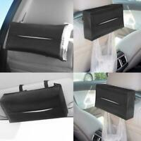 Leather Durable Standard Tissue Box Holder For Car Rectangular SALE Office O1A3