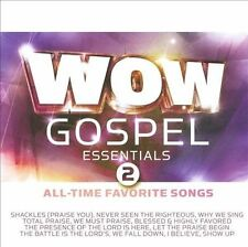 NEW WOW Gospel Essentials 2 All-Time Favorite Songs (Audio CD)