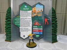 Heroscape Custom Aquaman v2 Double Sided Card & Figure w/ sleeve DC