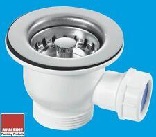 Mini Sink Strainer Waste found on some Rangemaster Ceramic Sinks 85mm Top