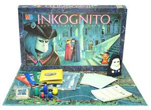 Inkognito MB Brettspiel Legespiel Gesellschaftsspiel 100% Vollständig
