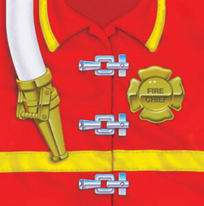 Firefighter Party Beverage Napkins (16) - Birthday Party Supplies