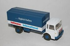 Wiking Man Diesel Hellman International Cargo Truck