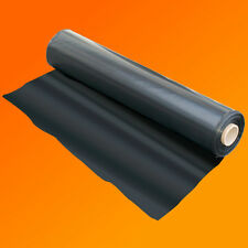 4M X 20M 500G BLACK HEAVY DUTY POLYTHENE PLASTIC SHEETING GARDEN DIY MATERIAL