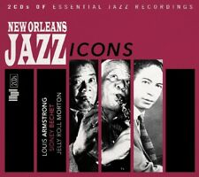NEW ORLEANS JAZZ ICONS  2 CD NEU