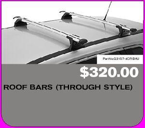 Brand New Genuine Nissan X-Trail 2014 T32 ST Roof Bars G3157-4CF1BAU