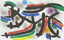 Joan Miro Lithographs Volume 1 (CB.160) - Original Lithograph IX (M.865), 1972