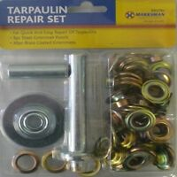 TARPAULIN REPAIRS OR RESIZE KIT FOR ROOFING PLANT MACHINE COVERS GROMMET SPARES