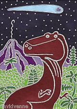 Venne Canvas Giclee ACEO Print - Tyrannosaurus Rex