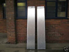 8FT ALUMINIUM LOADING RAMPS FOR RECOVERY TRUCK BEAVERTAIL