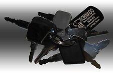 Bobcat Heavy Equipment Construction Ignition Key Set 8 Keys