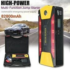 12V 82800mAh 4-USB Car Jump Starter Pack Booster Charger Battery Power Bank SOS
