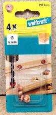 Wolfcraft Dübelfix Dübelsetzer Markierhilfe für Holzdübel 6 mm  2911000