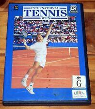International Tennis Open PC Game 1994