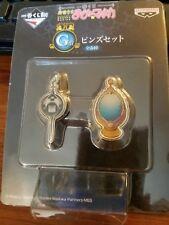 Sayaka Miki Madoka Magica Soul Gem / Grief Seed pin set Official Ichiban Kuji G