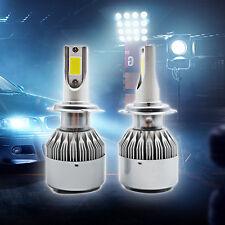 Pair H7 110W 20000LM Lampade Fari Lampadine Auto Headlight Beam 6000K Bianca