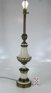 STIFFEL Hollywood Regency Table Lamp Trophy Urn Metal Brass
