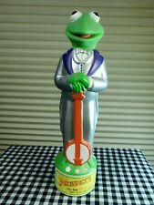 Vintage Kermit the Frog Shampoo Bath Toy Muppets Jim Henson 1988
