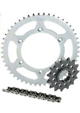 SUZUKI DRZ400E CHAIN AND SPROCKET KIT 2001-2016 STEEL 14/47 WITH ORING CHAIN