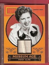 PATSY CLINE COUNTRY SINGER WORN RELIC MEMORABILIA CARD 2014 GOLDEN AGE MUSIC