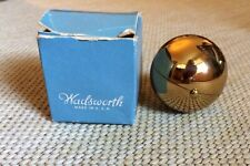 Vintage Mid Century Wadsworth Sphere Orb Ball Compact With Original Box