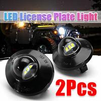 2Pcs LED License Plate Tag Light For Ford Explorer Ranger F250 F350 F450 F550