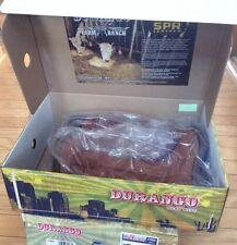 Durango 27602 Farm & Ranch Plow Western Boot Men's Tan Leather 10 D New In Box