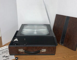 BUHL Model 100 ESCORT Portable Overhead Projector Never Used - Needs Glass