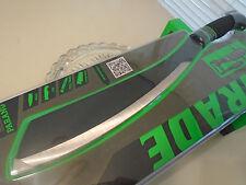 """Schrade Parang Combat Machete Knife Sword 3Cr13 Full Tang SCHPR1CP 19.60"""" OA New"""