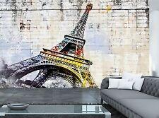 Paris. Street Art  Wall Mural Photo Wallpaper GIANT WALL DECOR Paper Poster