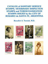 PROSTITUTE REVENUE STAMP CATALOG, ROSARIO, ARGENTINA, NEW!!