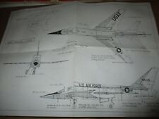 1/72 Scale Vacuform Airmodel  F-107A unbuilt kit 214 in opened bag