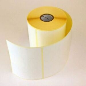 """Large Blank Self Adhesive Sticky Labels 150mmx100mm 6"""" x4"""" Address Thermal White"""