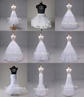 Stock Wedding Prom Petticoat Crinoline  Hoop/Hoopless/Mermaid/Fishtail Slips