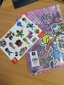 Wario Ware Get it Together Poster and Sticker set - NO GAME