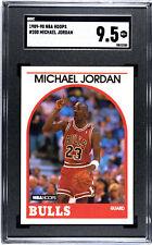 1989 Hoops Michael Jordan #200 SGC 9.5 MINT+ Cross to PSA