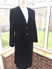 Alexon Ladies Vintage Silk Blend Velvet Smart Jacket & Skirt Suit Size 12