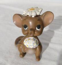 Adorable Vintage Josef Originals Wedding Day Bride Mouse Original Sticker Japan
