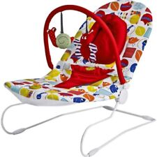 Mamas & Papas EARLYBIRD Bouncing Cradle White Red Butterfly Snail Newborn to 9kg