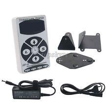 Hurricane HP-2 White Dual Digital LCD Tattoo Power Supply Machine New Version