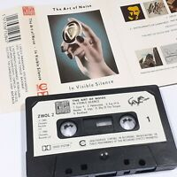 THE ART OF NOISE IN VISIBLE SILENCE 1986 CASSETTE TAPE ALBUM CHRYSALIS CHROME