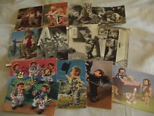Like Mecki Hedgehogs? Cute Collection Anthropomorphic Animals-Lot-13 Postcards