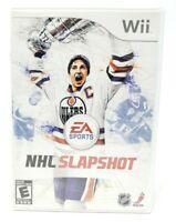 NHL Slapshot Nintendo Wii Game