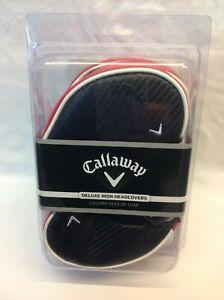 Callaway Deluxe Iron Head Covers ( NEW )