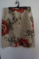 CLOTH Floral Knee Length Skirt Unique Item Made in Sydney, Australia