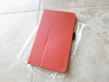 Elsse NEXUS 7 FHD (2013) Leather Tablet Stand Book Folio Cover Case Orange