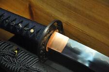 High Quality Shinogi Zukuri Folded Clay Temperd Hishi-Gami Japanese Sword Katana