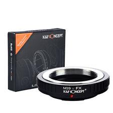Adapter for Leica M39 Lens to Fujifilm X Mount Fuji X-Pro1 M39-FX Camera